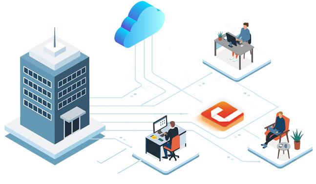 Smart Working Software Cloud