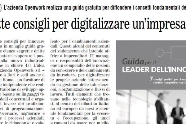 guida gratuita industria 4.0 intervista Giuliani