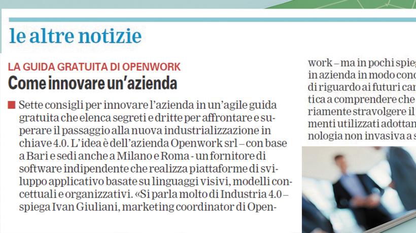 Guida gratuita innovazione digitale intervista Giuliani
