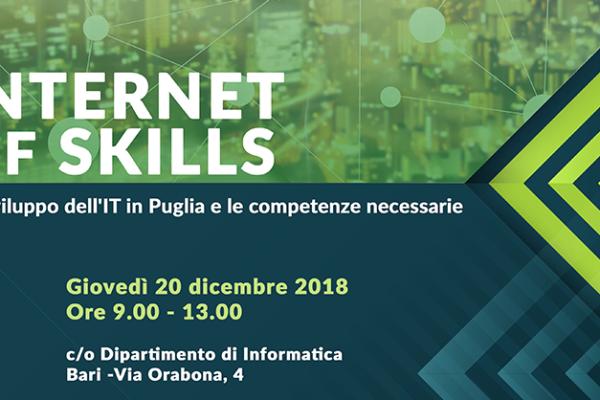 'Internet of skills': lo sviluppo dell'IT in Puglia e le competenze necessarie
