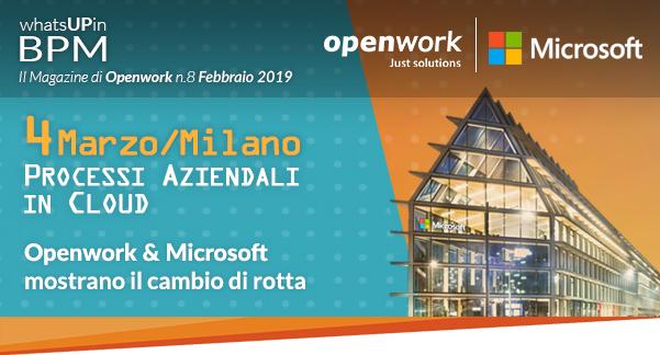 Evento Microsoft & Openwork