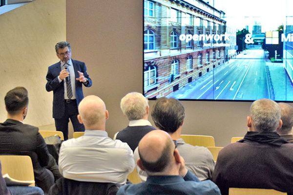 Openwork & Microsoft House