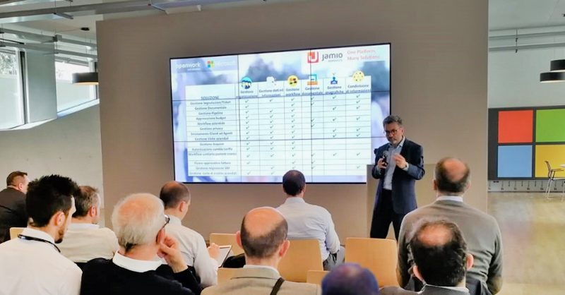 Evento Openwork & Microsoft Italia