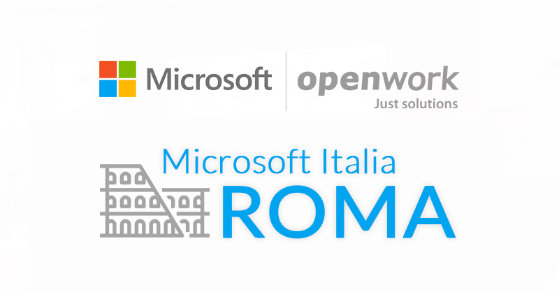 Evento in Microsoft Italia Roma
