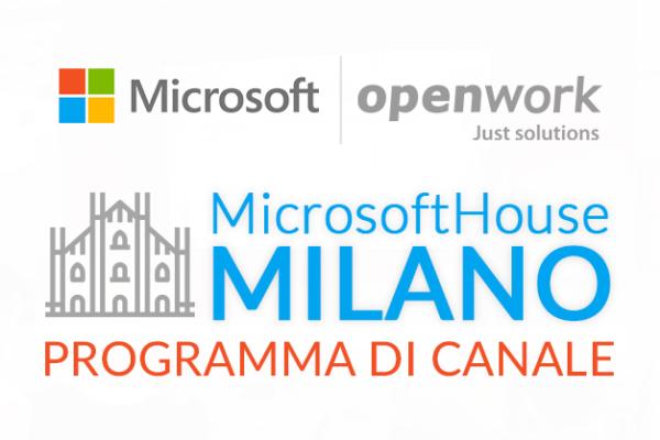 Presentato in Microsoft House il programma di Canale di Openwork