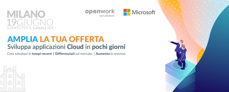 Evento canale ICT Openwork