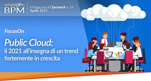 Cloud pubblico Jamio openwork