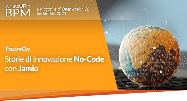 Storie di innovazione No-Code con Jamio